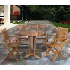 bistro patio chairs teak 5 piece patio dining set bistro patio set ikea