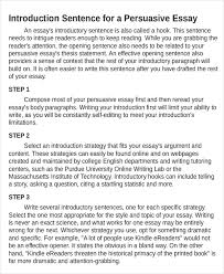 Argument And Persuasion Essay Examples Free 5 Persuasive Essay Examples Samples In Pdf Doc