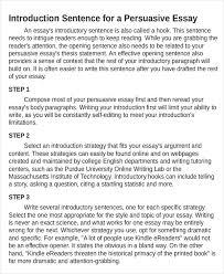 5 Persuasive Essay Examples Samples Pdf Doc Examples