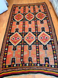 north african kilim trabelsi recalling the origin of its weavers libyans from tripolitania immmigrated to the