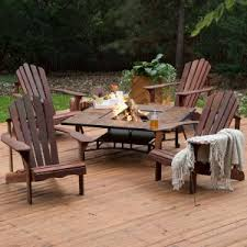 fire pit furniture. Exellent Pit Belham Living Richmond Deluxe 5 Piece Adirondack Chair Fire Pit Chat Set To Furniture E