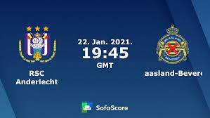 RSC Anderlecht Waasland-Beveren Live Ticker und Live Stream - SofaScore