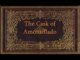 edgar allan poe the cask of amontillado