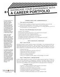 Best S Of Professional Portfolio Templates Sample Resume Portfolio