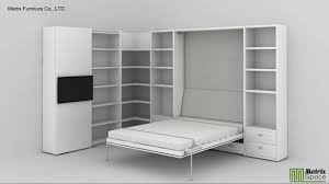 space saving furniture bed. Matrix Space Wall Bed, Murphy Saving Furniture(suki@matrixsz.com) - YouTube Furniture Bed