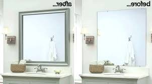 removing mirror from wall glue large bathroom to tiled remove mirrors glued