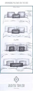king pillows on queen bed. Modren Bed Arrangement And Sizing For Pillows On Queen King Bed  Wwwjudithtaylordesignscom For Pillows On Bed I