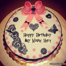 Beautiful Birthday Cakes For Girls With Name Top Wishes