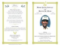 Memorial Pamphlet Template Lds Funeral Program Template Word Single Fold Cross Memorial