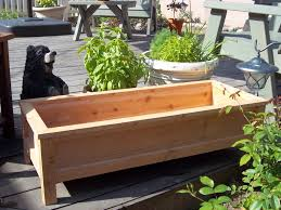 Planters, Large Patio Planters Diy Large Planter Boxes Rectangle Boxes From  Wooden For Trees And