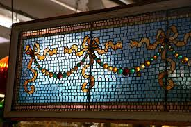 american antique mercury mosaic stain glass windows for