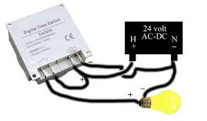 override thermostat using programmable timer 24 Volt Thermostat Wiring to override thermostat connect 24 vdc power to timer terminals located on right side connect thermostat wire to switch terminals located on left side 24 volt thermostat wiring diagram