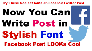 Cool Fonts To Write In How To Write Different Fonts On Facebook Stylish Font Coolest Font Youtube