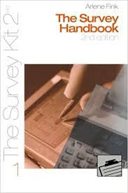 The Survey Handbook 2nd edition: Fink, Arlene G.: 9780761925804 ...