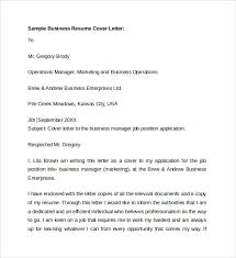 9 business cover letters samples examples formats example of business cover letter