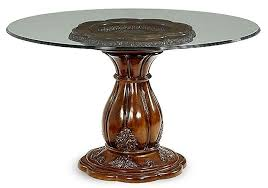 Round glass top Replacement Glass Aico Lavelle Melange 54u2033 Round Glass Top City Creek Furniture Aico Lavelle Melange 54u2033 Round Glass Top Dining Table 540013454101