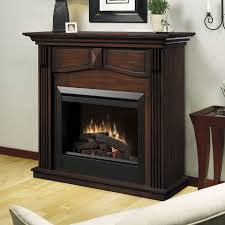 holbrook electric fireplace mantel package in burnished walnut dfp4765bw