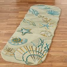 valuable coastal runner rugs dream seashell area