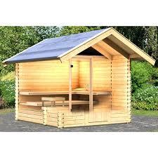 Great Sauna Exterieur Avec Poele A Bois Chalet Sauna X Cm Sauna Sauna  Exterieur Avec Poele