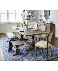 tristan trestle dining table created for macy s macys trestle dining tablesdining room setsside chairshouse furnituredining