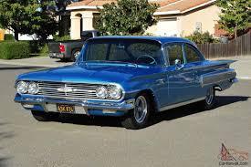 1960 Chevrolet BelAir 2 Door 350/350 PDB PS Clean Interior Show ...