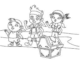 printable 22 jake and the neverland pirates coloring pages 6586