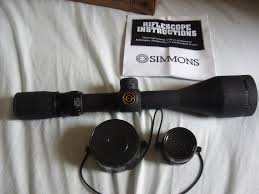 simmons whitetail classic scope. made in the philippines of course none your china rubbish. a real classic scope at bargain price. £145 posted. price drop £125 posted simmons whitetail