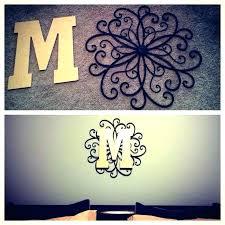 metal hanging wall art wrought iron monogram wall decor best metal hanging wall art wrought iron