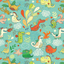 Dragon Pattern Enchanting Illustrator Julia Grigorieva Dragon Pattern Found On
