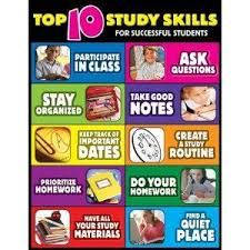 Study Chart For Students Pin By Shannon Davis On Study Skills Teaching Study Skills