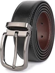 """Beltox <b>Fine</b> Men's Dress Leather Belts 1.25"""" Wide with Classic Black ..."""
