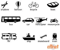 Transportation - Worksheets | EFLnet | EFL/ESL Vocabulary ...