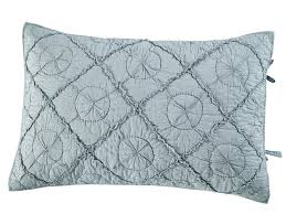 Country Idyl Luxury Pure Cotton Voile Quilted Pillow Sham by Calla ... & Picture 1 of 2 ... Adamdwight.com