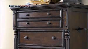 Ashley Key Town Panel Bedroom Set in Dark Brown SALE