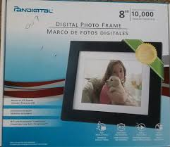 new pandigital 8 lcd digital picture frame pan8004w01c 10 000 photo wireles 2gb