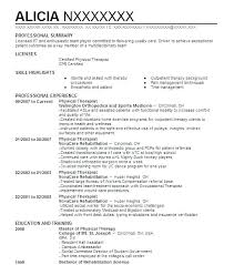 Physical Therapy Resume Wonderful 3114 Physical Therapy Aide Resume Physical Therapist Resume Examples