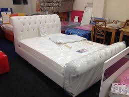 Fancy - Diamanté bed frames white or black double £350 king £375