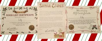 Christmas list received christmas nice list certificate. Top Santa Letters Reviews Facebook