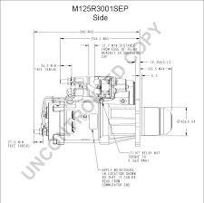 m125r3001sep side dim drawing output curve m125r3001sep output curve wiring diagram