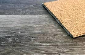 waterproof vinyl flooring with cork underlayment for plank