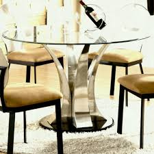 furniture round glass dining table and chairs awesome astonishing round glass dining room table furniture
