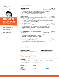 Resumes For Creative Professionals Amazing Best Resume For