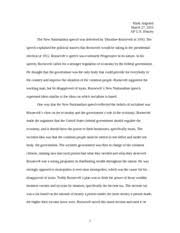 ap us history essay significance of the frontier in american  3 pages ap us history essay new nationalism