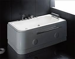 hemerley 60 x 32 whirlpool jetted bathtub with head rest bath filler hand shower