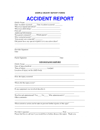 Accident Report Template Word Free Simple Invoice Form Printableemplates Word Basicemplate For 69