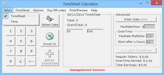 Calculator For Timesheet Download Timesheet Calculator 3 53