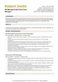 Sample Hr Professional Consultant Resume Hr Manager Resume Samples Qwikresume
