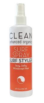 Review: CLEAN enhanced organics Surf Spray Surf Style ...