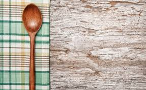 Kitchen Utensils On The Old Wood Background Stock Image Image of