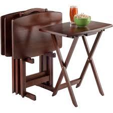 5 Piece Snack Table Set